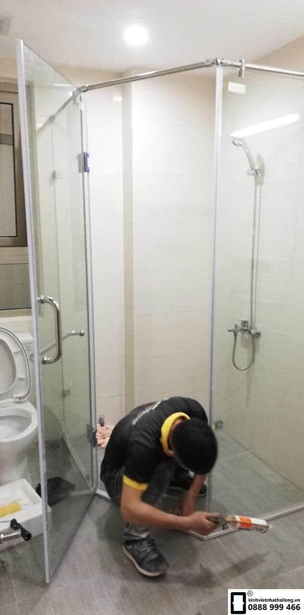 Cabin phòng tắm 135 độ mẫu 1