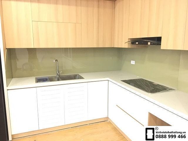 Màu be tạo không gian nhẹ nhàng cho căn bếp