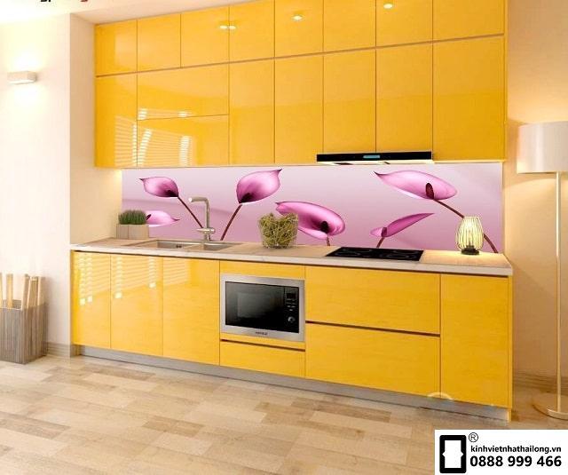 Kính ốp bếp 3D mẫu 11