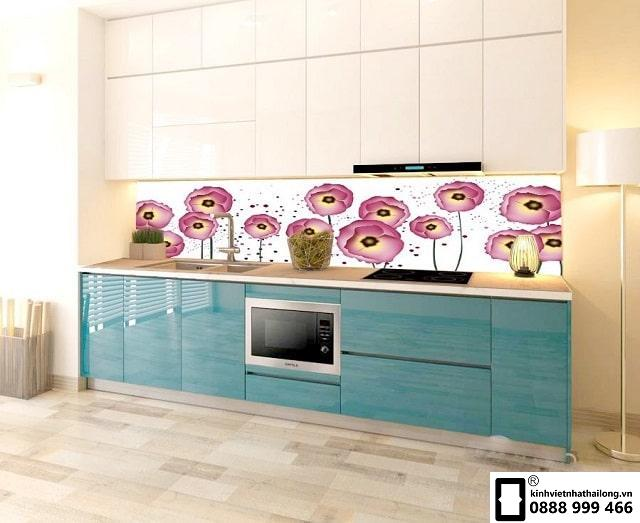 Kính ốp bếp 3D mẫu 13