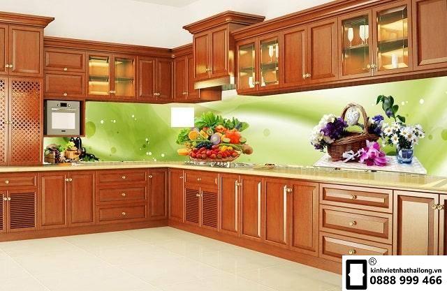 Kính ốp bếp 3D mẫu 21