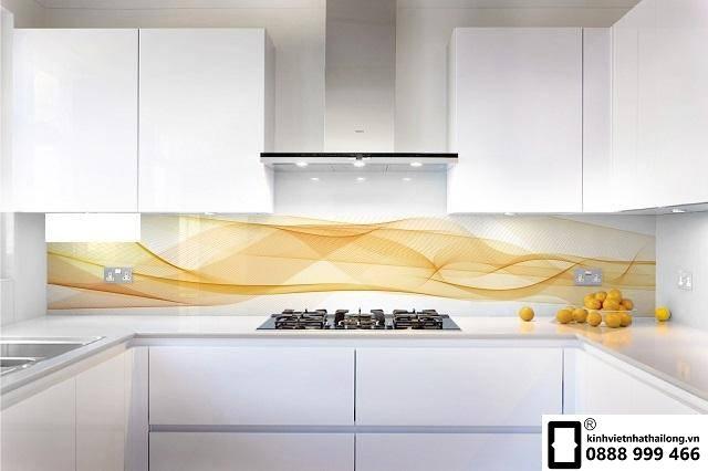 Kính ốp bếp 3D mẫu 23