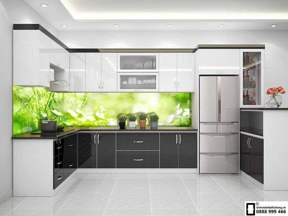 Kính ốp bếp 3D mẫu 28