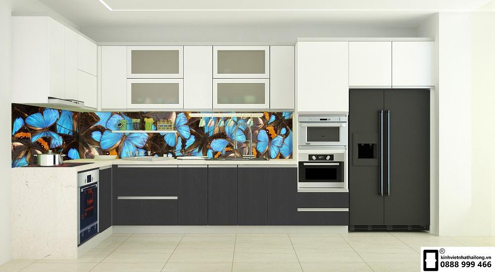 Kính ốp bếp 3D mẫu 29