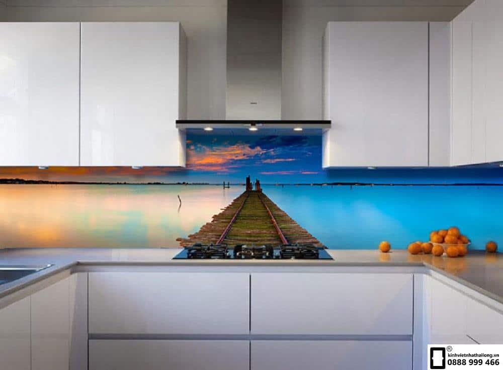 Kính ốp bếp 3D mẫu 38