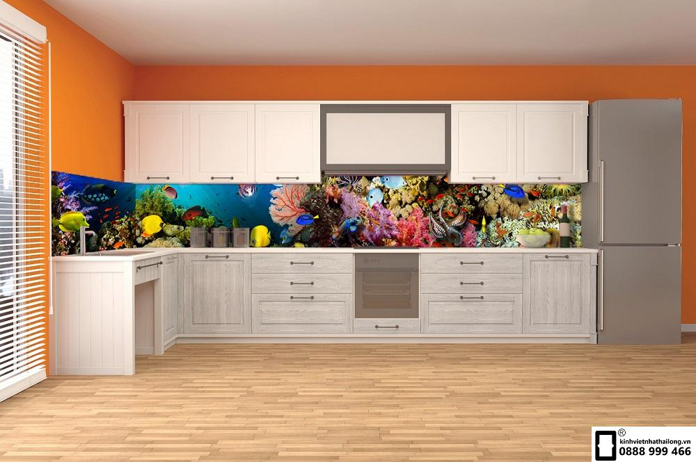 Kính ốp bếp 3D mẫu 39