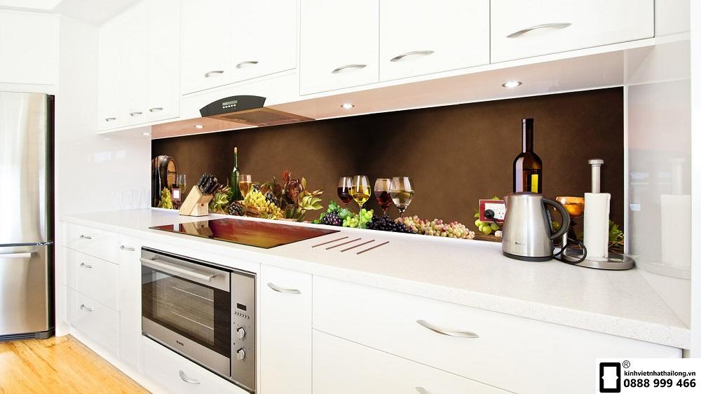 Kính ốp bếp 3D mẫu 41