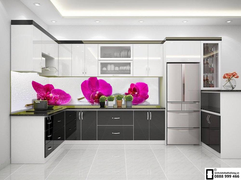 Kính ốp bếp 3D mẫu 54