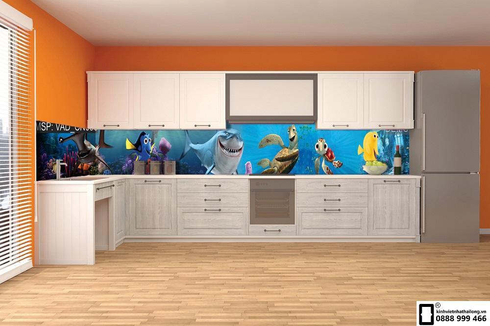 Kính ốp bếp 3D mẫu 55