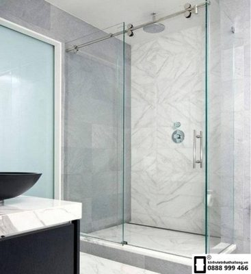 Cách khắc phục phòng tắm kính bị xệ