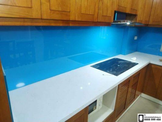 Lắp đặt kính ốp bếp tại quận Bắc Từ Liêm Hà Nội