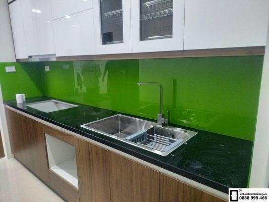 Lắp đặt Kính ốp bếp Quận Nam Từ Liêm Hà Nội
