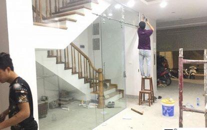 Sửa cửa kính cường lực