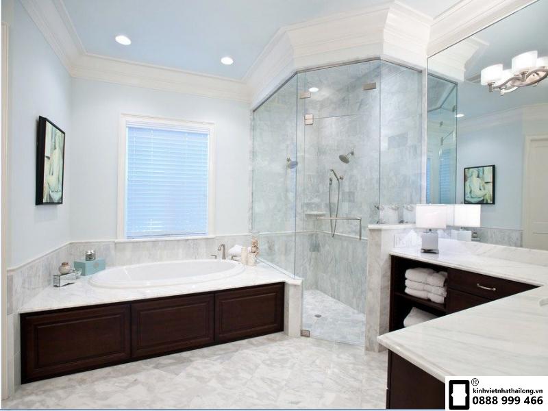 tối giản các vật dụng trong nhà tắm