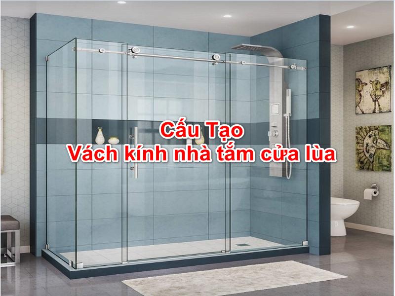 vách kính nhà tắm đơn giản đẹp