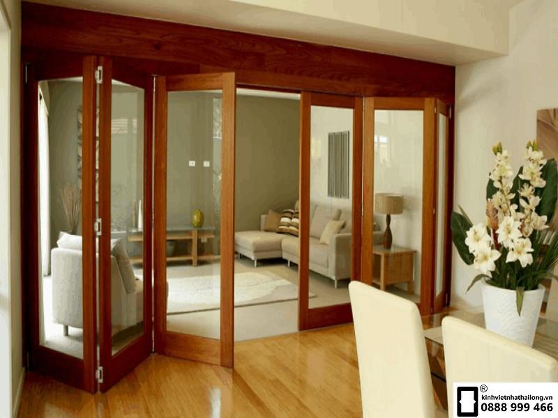 Cửa kính cường lực khung gỗ giá rẻ - nét đẹp của sự hiện đại và cổ điển