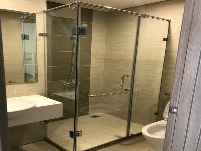 Cabin nhà tắm 90 độ