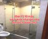 Gợi ý 10 mẫu Vách Kính Nhà Tắm nhỏ diện tích dưới 3m2