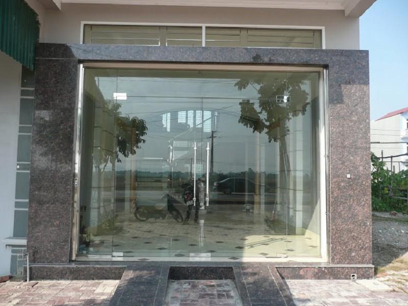 Báo giá Cửa Kính Cường Lực Bản Lề Sàn Đẹp chính hãng tại Hà Nội